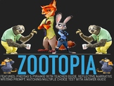 ZOOTOPIA MOVIE GUIDE, END OF YEAR/LAST DAY OF SCHOOL ACTIVITY