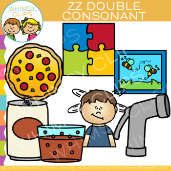 ZZ Double Consonant Clip Art