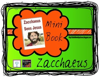Zacchaeus Mini Book Freebie