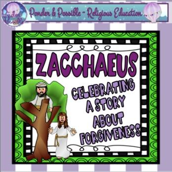 Bible Story of Zacchaeus ~ Jesus, Reconciliation, Choices, Religion