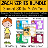 Zach Series Bundle - Social Skills Activities