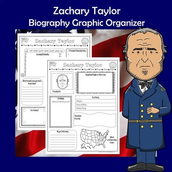 Zachary Taylor President Biography Research Graphic Organizer