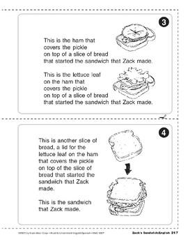 Zack's Sandwich/El bocadillo de Juan