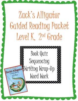Zack's Alligator Reading Packet
