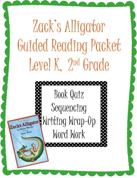 Zack's Alligator Reading Packet