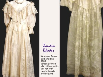 Zandra Rhodes Fashion Design Surface Design Textile Clothing