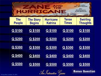 Zane an the Hurricane, The Story of Katrina by Rodman Philbrick