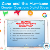 Zane and the Hurricane: A Story of Katrina Chapter Compreh