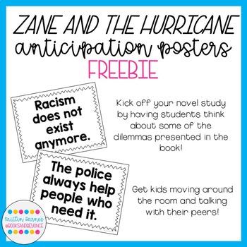 Zane and the Hurricane Anticipation Posters FREEBIE