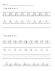 Zaner-Bloser Handwriting Worksheets