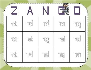 Zango, Zuno, Zandy Land - Short E Nonsense Words