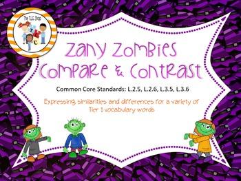 Zany Zombie Comparisons