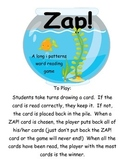 Zap! A fishy way to practice long i patterns
