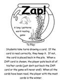 Zap! A fishy way to practice long i patterns   Printer Friendly version
