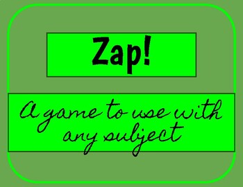 Zap! Game