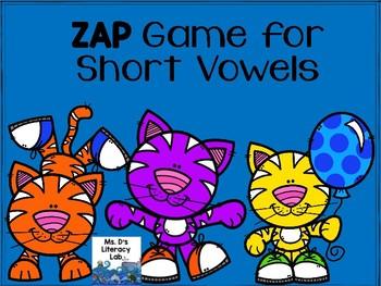 Short Vowels ZAP Game !