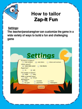 Zap It Fun - eye hand coordination game