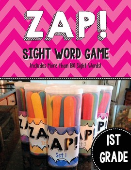 Zap! Sight Word Game 1st Grade Edition