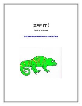 Zap it! Decoding CVC words.