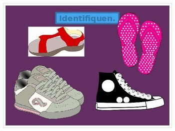 Zapatos y Accesorios (Shoes and Accessories) PowerPoint