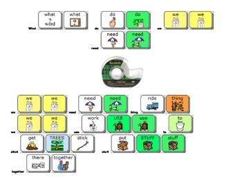 Zappy Zoomer Activity for AAC PRC Users