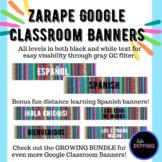 Zarape Google Classroom Banners (Spanish Google Classroom
