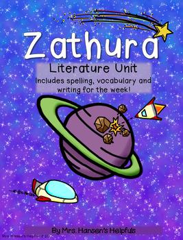 Zathura Literature Unit and Activities