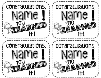 Zearn Certificates {typable}