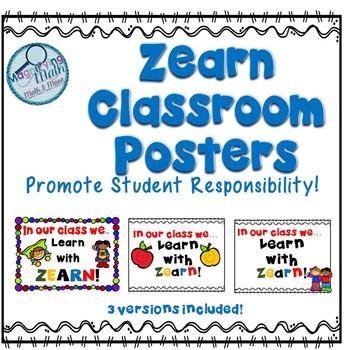 Zearn Math Classroom Posters