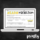 Zearn Weekly Math Reflection (Bilingual: English & Spanish)