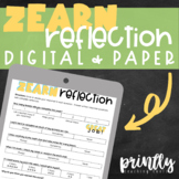 Zearn Weekly Math Reflection (Bilingual: English & Spanish)