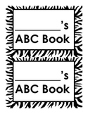 Zebra ABC Book