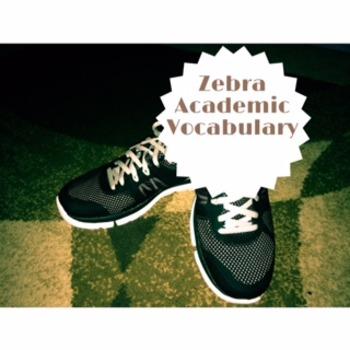 Zebra Academic Vocabulary; Code X Unit 3; Interactive Vocabulary Lesson