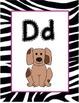Zebra Alphabet