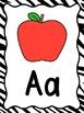 Zebra Alphabet Posters & More