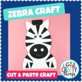 Zebra Animal Craft