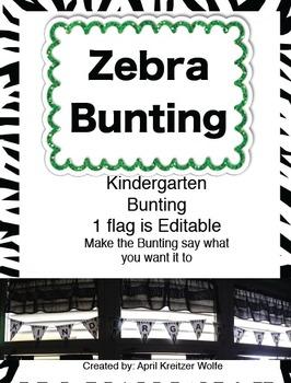 Zebra Bunting