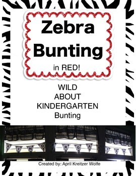 Zebra Bunting with RED