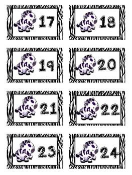 Zebra Classroom Decor Beginning of the Year