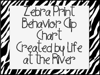 Zebra Clip Chart Management System