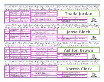 Zebra Custom Desk Name Tags