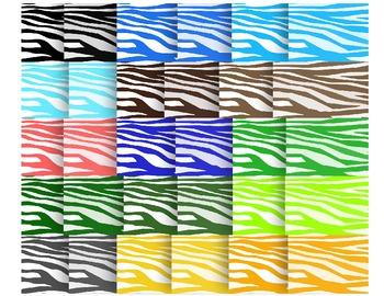 Zebra Diva': 48 Zebra Striped Backgrounds