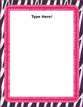{Zebra} Editable pages