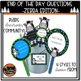 Zebra End Of The Day Questions
