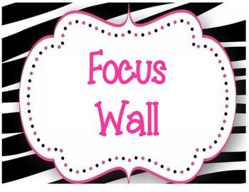 Zebra Focus Wall Headers