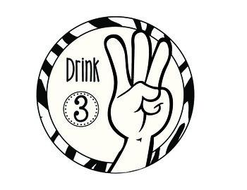 Zebra Hand Signal Signs