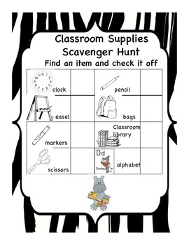 Zebra Jungle Back to School Package, Kindies to Grade 2, plus assessments