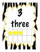 Zebra Jungle Numeracy Mega Pack, Kindies, Gr 1 and 2, Back