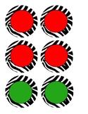 Zebra Labels - Basic colors