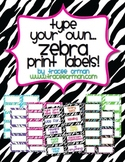 Zebra Labels You Can Customize & Edit Avery 5163 8163